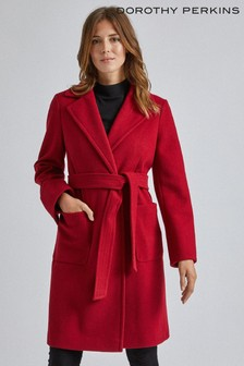 Dorothy Perkins Pocket Wrap Coat