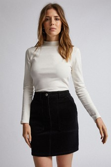 Dorothy Perkins Corduroy Mini Skirt