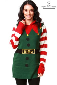 Want That Trend Elfie Hood Jumper