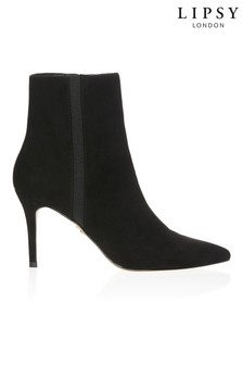 Lipsy Elastic Gusset Stiletto Ankle Boot