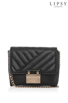 Lipsy Small Quilted Cross Body Chain Bag