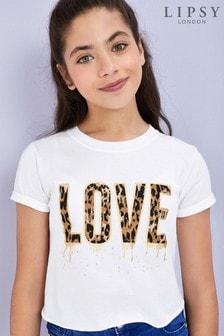 Lipsy Girl Embellished T-Shirt