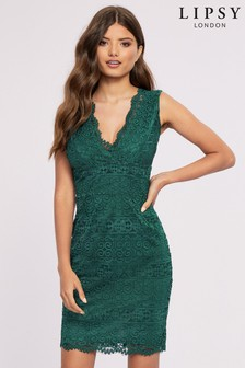 Lipsy Lace Bodycon Dress