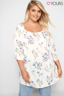 Yours Curve Printed Tunic