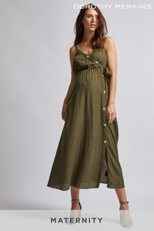 Dorothy Perkins Maternity Button Front Dress