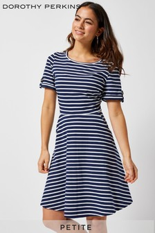 Dorothy Perkins Petite Striped Jersey Dress