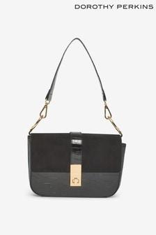 Dorothy Perkins Twistlock Shoulder Bag