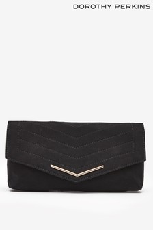Dorothy Perkins Stitched Clutch