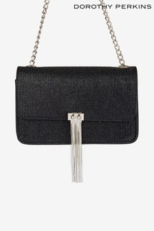 Dorothy Perkins Metal Tassel Crossbody Bag