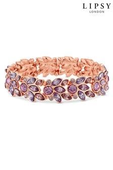 Lipsy Leaf Stretch Bracelet