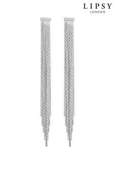 Lipsy Slinky Silver Earrings
