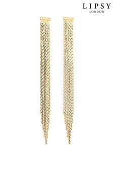Lipsy Slinky Gold Earrings