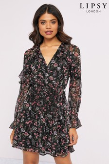 Lipsy Floral Mini Dress