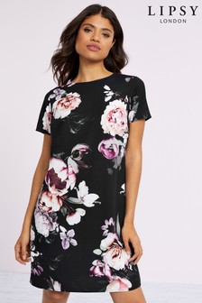 Lipsy Printed Shift Dress