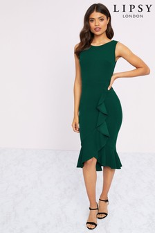 Lipsy Ruffle Midi Dress