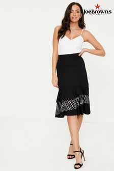 Joe Browns Tiered Ruffle Jersey Skirt