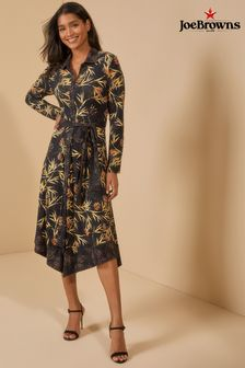 Joe Browns Autumnal Palm Jersey Dress