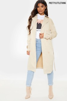 PrettyLittleThing Trench Coat