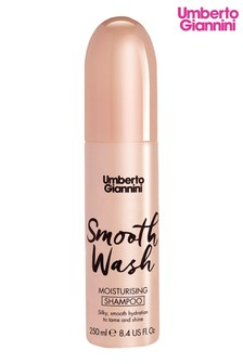 Umberto Giannini Smooth Wash Moisturising Shampoo 250ml