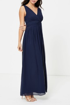 Dorothy Perkins Darcy Drape Detail V neck Maxi Dress