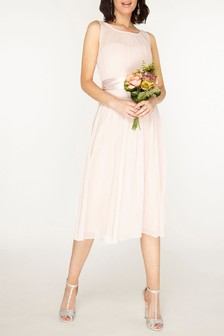 Dorothy Perkins Bethany Chiffon Midi Dress