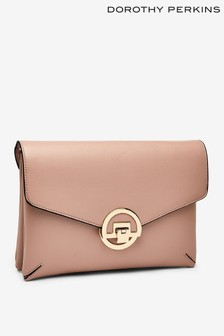 Dorothy Perkins Compartment Clutch Bag