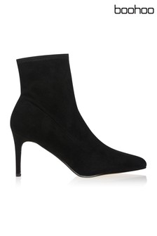 Boohoo Stiletto Sock Boots