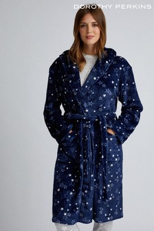 Dorothy Perkins Star Print Fluffy Robe