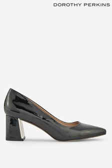 Dorothy Perkins Flare Heel Court Shoes
