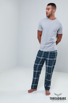 Threadbare Check PJ Set