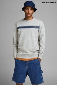 Jack & Jones Chest Stripe Sweatshirt