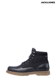 Jack & Jones Leather Hiker Boots