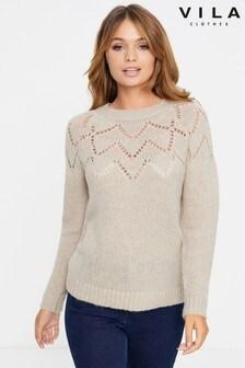 סוודר סרוג של Vila