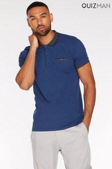 Quizman Contrast Polo Shirt