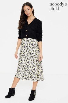 Nobody's Child Midi Skirt