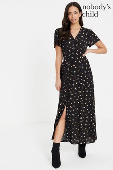 Nobody's Child Ditsy Print Maxi Dress