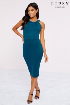Lipsy High Neck Bodycon Dress