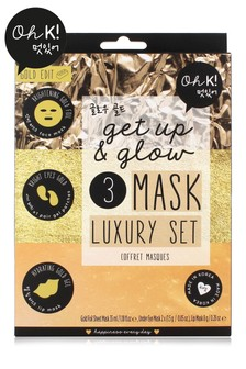 Oh K! Get Up & Glow 3 Mask Luxury Set