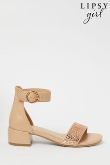 Lipsy Low Block Heel Sandals (Older)