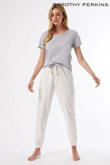Dorothy Perkins Light Prosecco Slogan Pyjama Set
