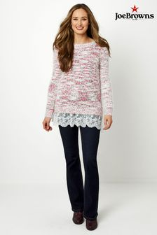 Joe Browns Eclectic Eyelash Knit Jumper