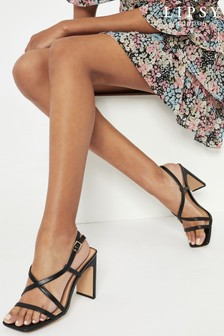 Lipsy Strappy Block Heeled Sandal
