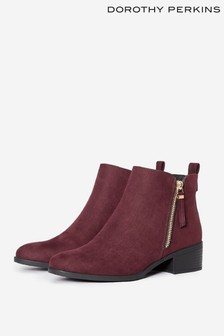 Dorothy Perkins Side Zip Ankle Boot