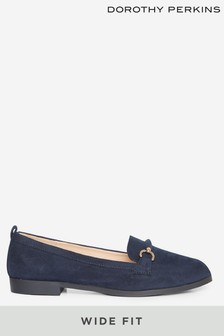 Dorothy Perkins Wide Fit Loon Loafer Shoe