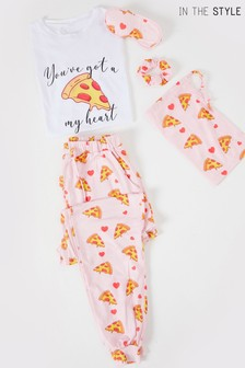 In The Style 5 Piece Pj Set