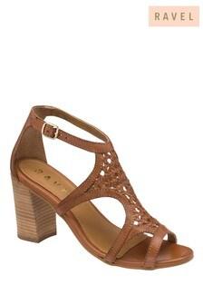 Ravel Block Heel Sandal