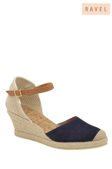 Ravel Wedge Heeled Espadrille