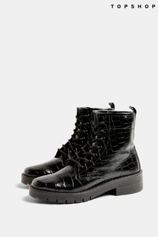 Topshop Buster Lace Up Boot