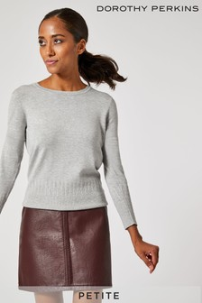 Dorothy Perkins Petite Pocket PU Mini Skirt