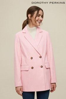 Dorothy Perkins Double Breasted Blazer Coat